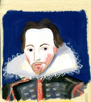 Michaela Gall - tudor portrait paintings William Shakespeare