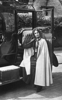 Mrs Emmeline Pankhurst (1858-1928) English suffragette. Founder of the Women's Social
