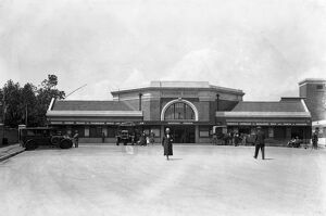 The new railway station at Hastings, Kent. 6 July 1931