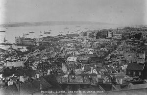 Reported armed revolt in Lisbon The sea of Lisbon, where an armed revolt has broken out