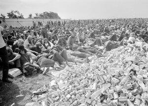 "Ryde Isle of Wight ""Tent City"" thousands of pop fans from all over the world attended"
