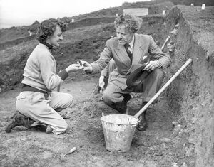 Sir Mortimer Wheeler Archaeologist and personality of TV programme 'Animal, Vegetable