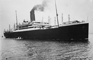The ' SS Minnewaska ' of the Red Star Line. 31 December 1928