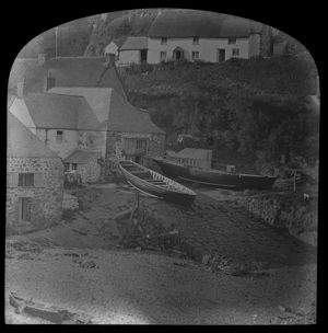 Cadgwith harbour. Late 19th Century