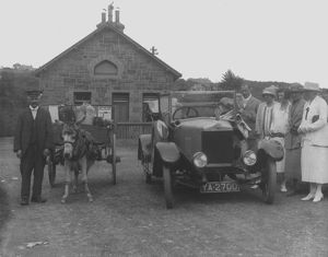 Carbis Bay Railway Station, Cornwall. 1925