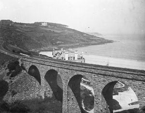 Carbis Bay viaduct, Cornwall. 1910