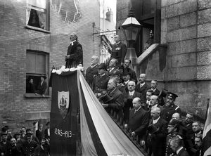 Charter Day, Fowey, Cornwall. 10 October 1913