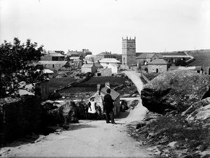Churchtown, Zennor, Cornwall. 1897.