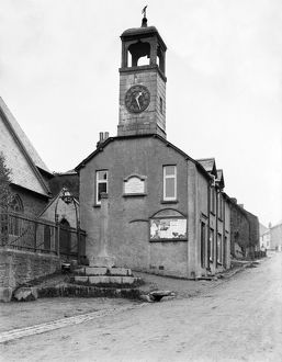 Clock Tower, Grampound, Cornwall. Early 1900s
