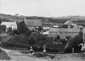 Comfort, Constantine, Cornwall. Early 1900s