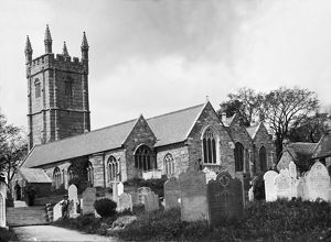 Constantine Church, Cornwall. Early 1900s