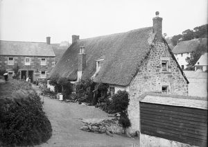 Cottages at Cadgwith, Cornwall