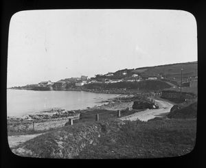Coverack Harbour, Cornwall. Late 1800s