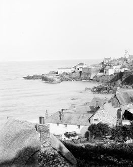 Coverack harbour, Cornwall. 1908