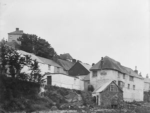 Coverack Post Office, Cornwall. 1908