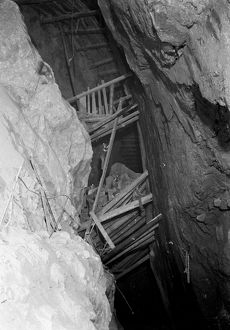 Dolcoath Mine, Camborne, Cornwall. Late 1800s