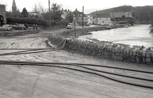 The Moors, Lostwithiel, Cornwall. 28th December 1979