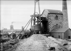 Goulds Shaft, Wheal Granville Mine, Camborne, Cornwall