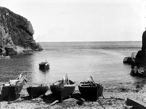 The Harbour, Cadgwith, Cornwall. 1894