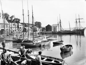 Harbour scene, Padstow, Cornwall