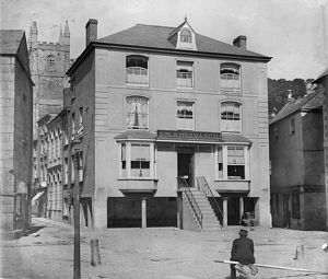 The King of Prussia Inn, Fowey, Cornwall. Post 1909