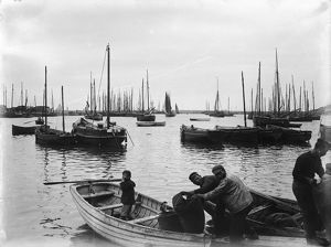 Newlyn Harbour, Cornwall. 1898