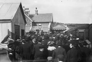 Opening of Padstow Station. 27th March 1899