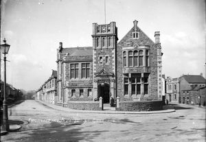Passmore Edwards Library, Trevenson Road, Camborne, Cornwall. Early 1900s