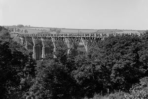 Ponsanooth Viaduct, Cornwall. 23rd July 1913