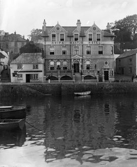 The Ship and Castle Hotel, St Mawes, Cornwall