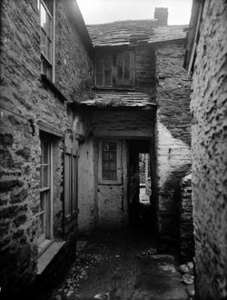 Temple Bar, Port Isaac, Cornwall. 1907