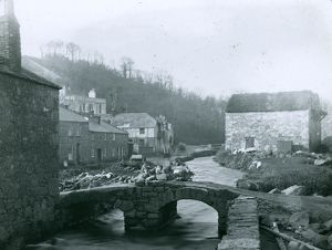 Tolcarne Bridge, Newlyn, Cornwall. Before 1880