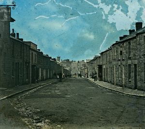 Trelowarren Street, Camborne, Cornwall. Around 1870