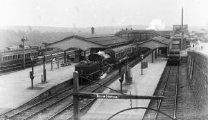 Truro Railway Station, Cornwall. Betwen 1904 and 1912
