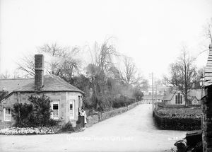 Turnpike gatehouse, Grampound, Cornwall. Early 1900s