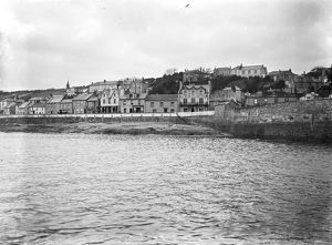 The waterfront, St Mawes, Cornwall. Early 1900s