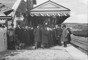 The Opening of Padstow Station. 27th March 1899