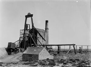 Wheal Kitty Mine, St Agnes, Cornwall