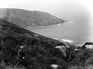 Wicca Pool, Zennor, Cornwall. 1903