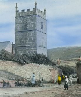 Zennor Church, Cornwall