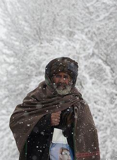 AFGHANISTAN-WEATHER-WINTER