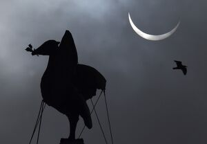 BRITAIN-SCIENCE-ASTRONOMY-ECLIPSE