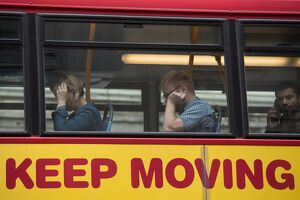 BRITAIN-TRANSPORT-OFFBEAT-KEEP MOVING