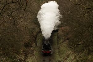 BRITAIN-TRANSPORT-RAILWAYS-HISTORY-OFFBEAT