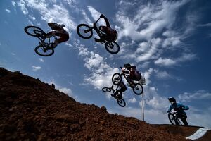 GAMES-CYCLING-BMX-RACE