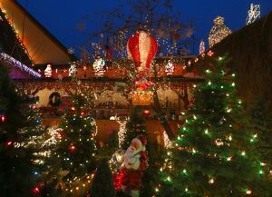 GERMANY-CHRISTMAS-DECORATION