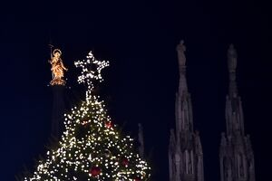 ITALY-CHRISTMAS-IMMACULATE CONCEPTION