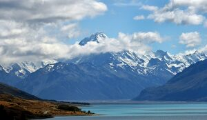NEW ZEALAND-MT COOK -VIEW