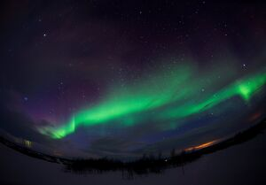 NORWAY-WEATHER-AURORA