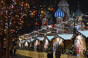 RUSSIA-LEISURE-CHRISTMAS